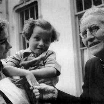 Christine Bader op latere leeftijd
